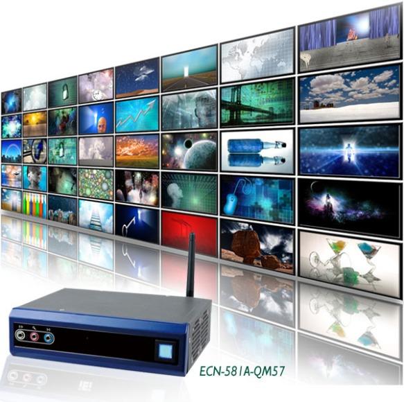 ECN-581A Dual DVI Display Multimedia Computer