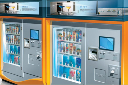 Kiosk Solution Automatic Vending Machines Anewtech