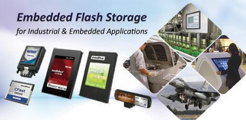 Embedded Flash Storage