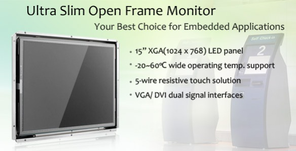 Open Frame Monitor: Anewtech IDS-3115