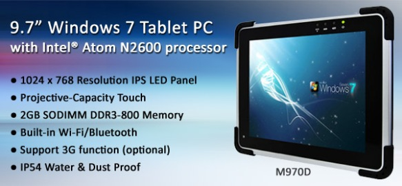 Windows 7 Tablet PC: WM-970D