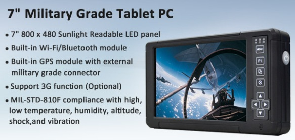 "7"" Military Grade Tablet PC"