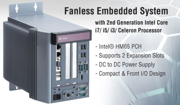 Anewtech Fanless Embedded PC - IPC912-213-FL