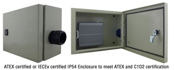 ATEX certified DIN-Rail Intel Bay Trail N2930 Embedded PC: WM-IBDRW100-EX