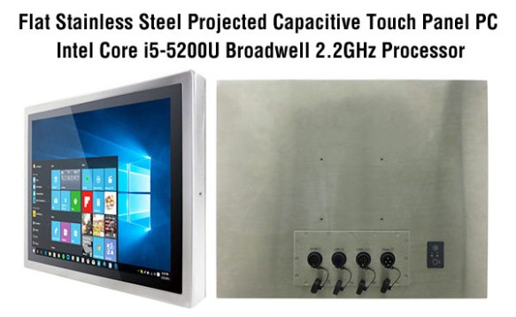anewtech-flat-stainless-steel-panel-pc