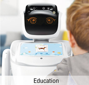 Anewtech-service-robot-sanbot-appliction-education