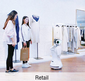 Anewtech-service-robot-sanbot-appliction-retail