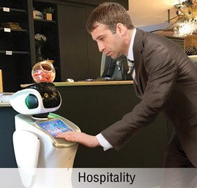 Anewtech-service-robot-sanbot-appliction-hospitality