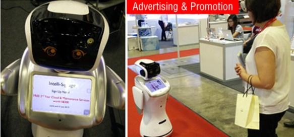 Anewtech-service-robot-sanbot-advertising