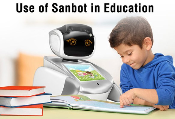 Anewtech-education-robot-sanbot